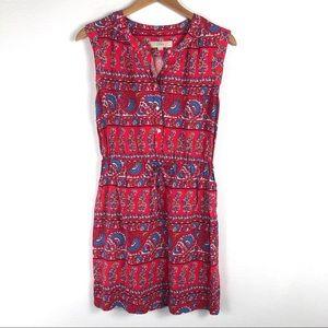 3/$25 | Loft Mini Dress Floral Paisley Print